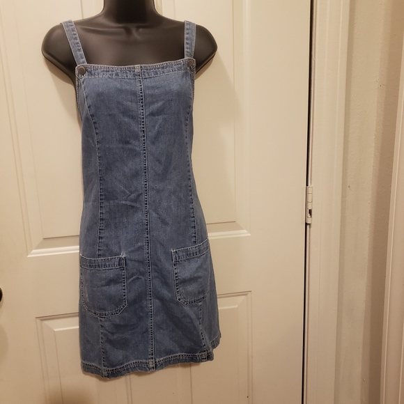 GAP Dresses & Skirts - 90's Vintage Gap Denim Dress Romper